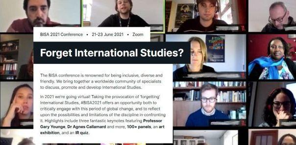 Presentación en la Conferencia Annual de la British International Studies Association 2021