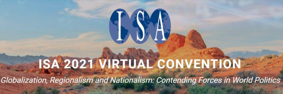 Presentation at the International Studies Association 2021 Virtual Convention